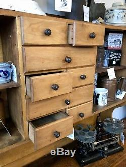 1900 1950s Country Primitive Kitchen Hoosier Cabinet