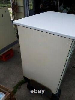 1940's Porcelain Top (old Tin Bread Drawer) Kitchen Cabinet
