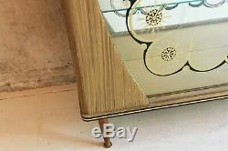 1950s vintage English display / drinks cabinet