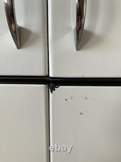 1960's Dwyer Vintage Kitchenette Cook Stove Sink Refrigerator Cabinet Porcelain