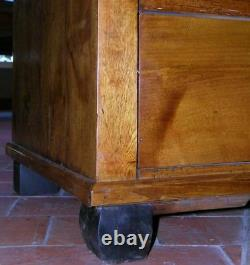 19th C. Biedermeier Commode, Chest of Drawers. D12