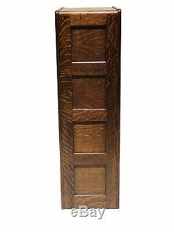 20th C Antique Arts & Crafts / Mission Oak File Cabinet Library Bureau Sole