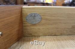 American Edwardian Baker Mahogany Demilune /Sideboard