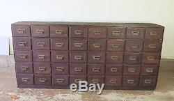 Antique Apothecary Cabinet Pharmacy cabinet Multi drawer Liggett Drugs