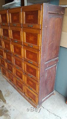 Antique Apothecary Hardware Store 24 Drawer Cabinet 48x52 LOCAL PICKUP