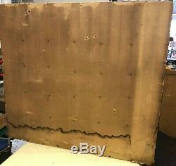 Antique Apothecary Hardware Store 30 Drawer Cabinet 25.5 by 27.5