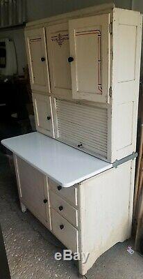 Antique Art Deco Hoosier Vintage Cabinet