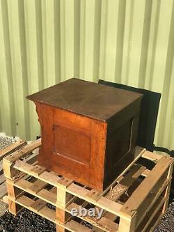 Antique By Wabash Oak Desktop Filing Cabinet Drawers