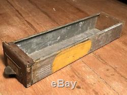 Antique C. 1910 208 Drawer Oak WC Heller Hardware General Store Parts Cabinet VTG