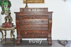 Antique Cabinet Console Buffet 1950s 46''X44''X20