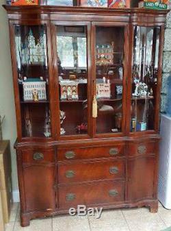 Antique China Cabinet Hutch
