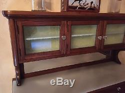 Antique Dental Cabinet with Marble Base