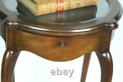 Antique English Walnut Bijouterie Display Table PL4797