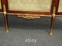 Antique French 19th Century Louis XVI Display Cabinet Vitrine w Ormolu