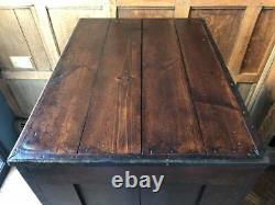 Antique Hardware Store Parts Cabinet, Multi Drawer Unit, Flat File Apothecary