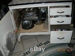 Antique Hoosier Style Cabinet Kitchen Hutch by Keystone, Littlestown, Pa