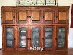 Antique Hutch Cabinet