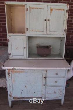 hoosier cabinet flour bin Antique Ivy Green Farmhouse Kitchen Hoosier CabiFlour Bin hoosier cabinet flour bin