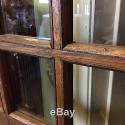 Antique L&JG Stickley China Cabinet 62.25 H