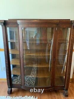 Antique Mahogany Curio Cabinet