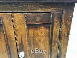 Antique Medicine Apothecary Cabinet w. Storage Spaces