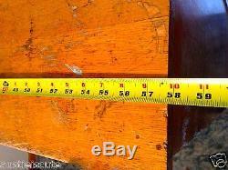 Antique Oak Filing 56 Cabinet Parts Bin Bolt Bin 58 Wide Supported Metal Drawer