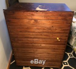 Antique Oak Wood Bookcase Glass Doors Barrister 3 Shelf 6 View Display Cabinet