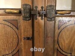 Antique Original Oak Hoosier Cabinet