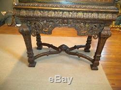 Antique Persian Motif Chinoiserie Chest on Frame Cabinet English