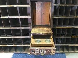 Antique Post Office Cabinet