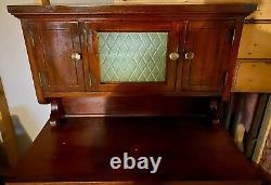 Antique Vintage Mahogany Dental Cabinet Circa 1920-1930 American Cabinet Company