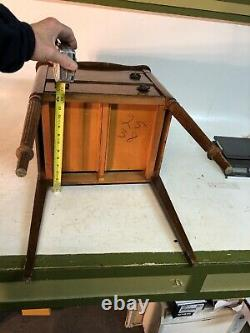 Antique Vintage Wood Caswell Runyon Company Perfect Sewing Cabinet Sew Stand