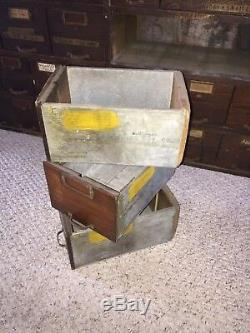 Antique Watch Makers 76 Drawer Cabinet 61 3/4H x 50 1/2W x 13 1/4D