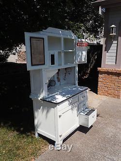 Antique hoosier kitchen cabinet
