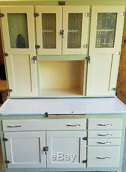 Antique hoosier style cabinet