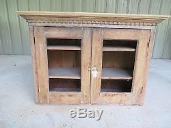 Antique kitchen cabinet cupboard wall cabinet