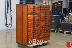 Apothecary Wooden Storage Cabinet