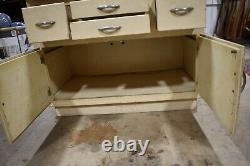 Art Deco Antique Hoosier Kitchen Cabinet
