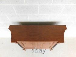 BAKER Regency Style 2 Door Console Table 43w x 34h