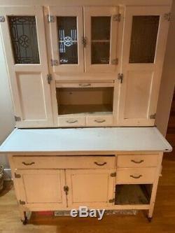 Beautiful antique Hoosier Cabinet