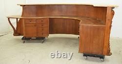 Beverly Hills Art Gallery Reception Desk, Art Nouveau style, #7806
