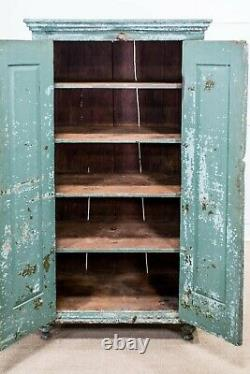 C. 1900 Pennsylvania Farm House Cupboard Cabinet Step Back Early American