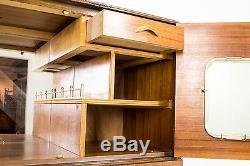 Cocktail Cabinet Antique Cabinet Dry Bar Scottish Burr Walnut B471