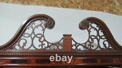 Councill Furniture China Cabinet Bookcase Mahogany Chippendale