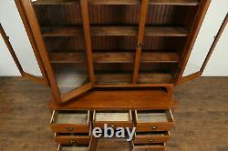 Country Pine Cabinet Antique Kitchen Pantry Cupboard #34855