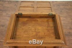 Dental, Jewelry or Collector Cabinet, Oak 1895 Antique, 23 Drawers #29205