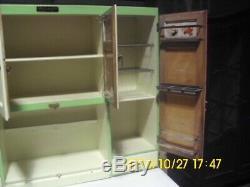 Early American McDougall, Hoosier style, kitchen Cabinet
