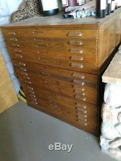 Flat file Large Vintage Hamilton flat file