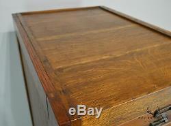 Globe Antique Oak File Cabinet
