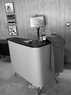Home bar mid century modern vintage retro style boomerang design, made to order